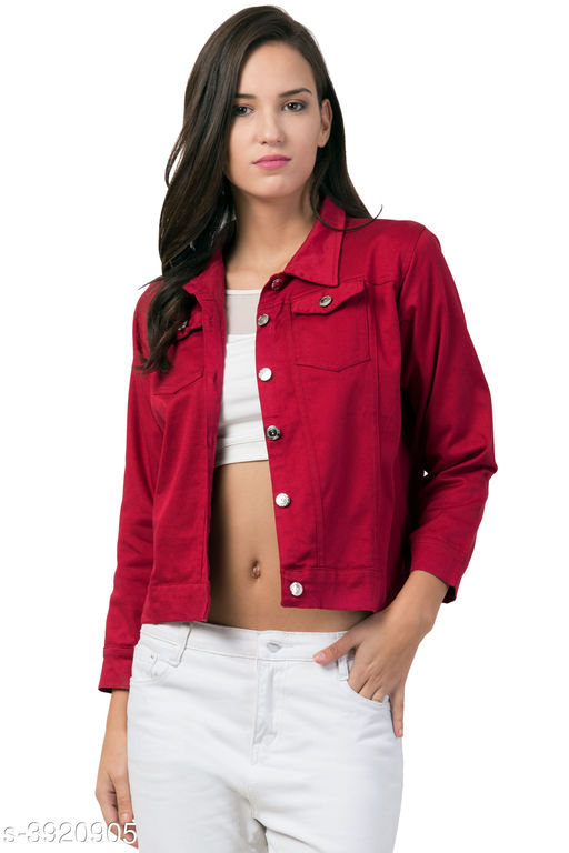Blazers Denim Women's Jackets Denim Women's Jackets Country of Origin: India Sizes Available: S, M, L, XL   Catalog Rating: ★4.2 (591)  Catalog Name: Attractive Denim Women'S Jackets Vol 2 CatalogID_552321 C79-SC1029 Code: 324-3920905-