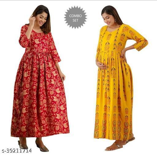 Classic Designer Women Maternity Dresses