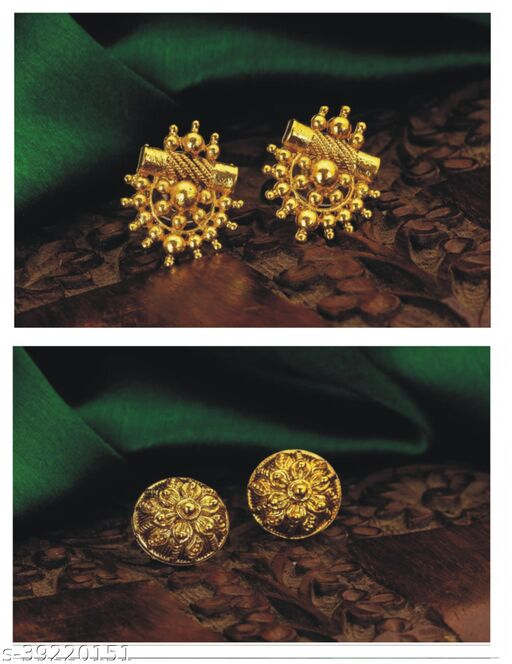 BUY ONE GET ONE GOLD PLATED EARING FOR WHOMEN
