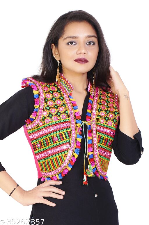 Aagam Ensemble Women Ethnic Jackets