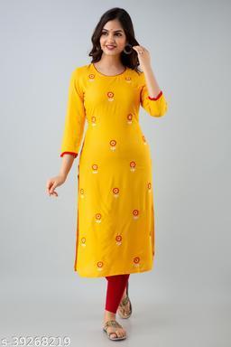 Chokhi Bandhni Straight kurtis