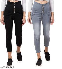 Classy Retro Women Jeans