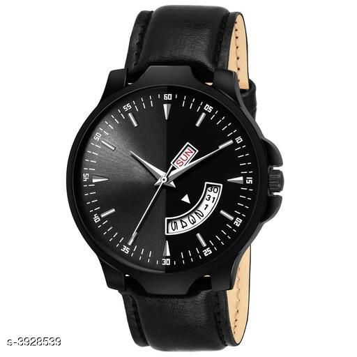 Irons Trendy Analog Watch  *Strap Material* Leather  *Display Type* Analogue  *Size*   *Multipack* 1  *Sizes Available* Free Size *    Catalog Name: Trendy Men Watches CatalogID_553514 C96-SC1369 Code: 273-3928539-