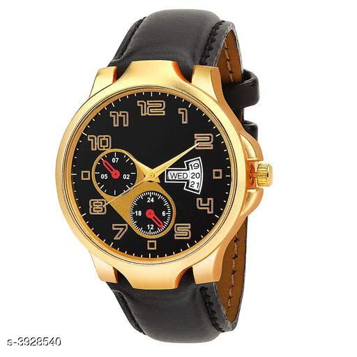 Irons Trendy Analog Watch  *Strap Material* Leather  *Display Type* Analogue  *Size*   *Multipack* 1  *Sizes Available* Free Size *    Catalog Name: Trendy Men Watches CatalogID_553514 C96-SC1369 Code: 273-3928540-