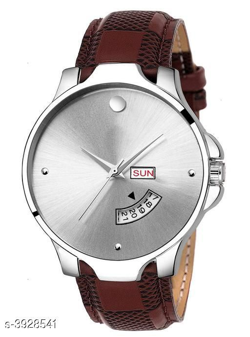 Irons Trendy Analog Watch  *Strap Material* Leather  *Display Type* Analogue  *Size*   *Multipack* 1  *Sizes Available* Free Size *    Catalog Name: Trendy Men Watches CatalogID_553514 C96-SC1369 Code: 273-3928541-