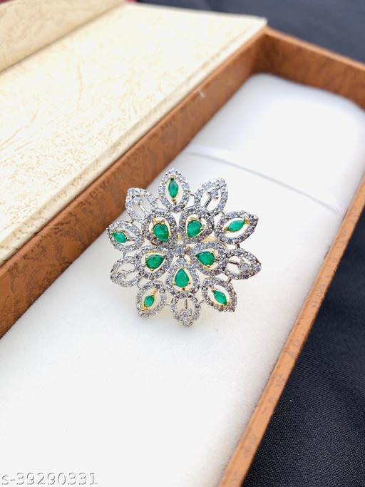 American Diamond Fancy Bridal Ring