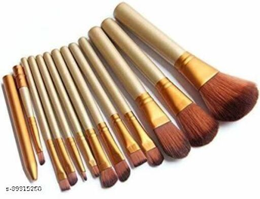 EYELASH AND 10 PC BROWN brush(11 Items in the set)