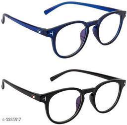 Attractive Plastic Unisex Sunglasses Combo