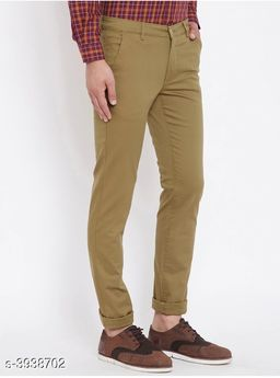 Trendy Stylish Cotton Men's Trousers