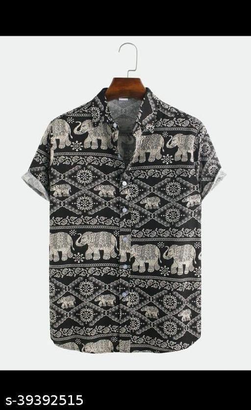 Urban Fablouse Men Half Sleeve Shirt (Ready-Made)