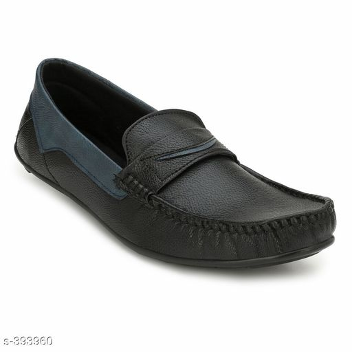 Trendy Synthetic Leather Men's Shoes