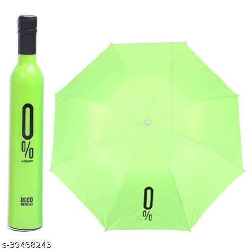 Bottle Shape Mini Compact Foldable Umbrella With Plastic Case