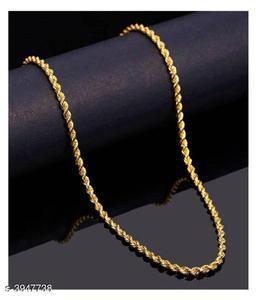Elegant Metal & Alloy Unisex Chain