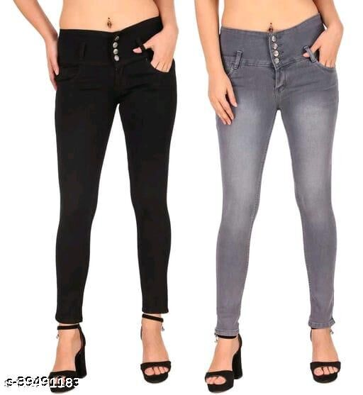 Ansh Fashion WearPresent Women & Girls Wear Strechable and Stylish Denim Jeans