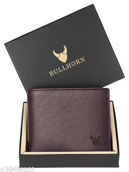 BULL HORN® RFID Protected Genuine High Quality Leather Wallet for Men