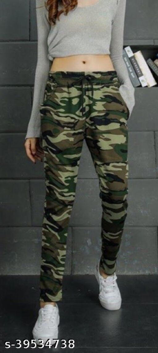 trendy army stylish joggers