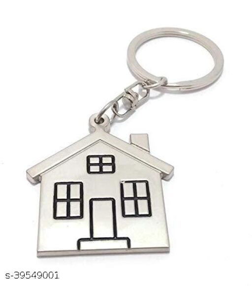 Dream House Or Home Metal Keychain