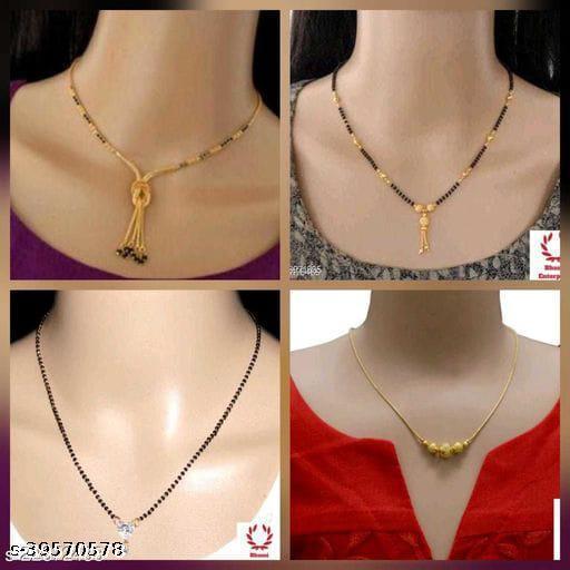 Bhumi09 Allure Diamond  Mangalsutra  For Women