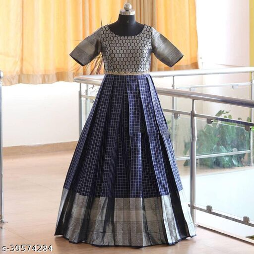 New Jacquard Long Gown For Women