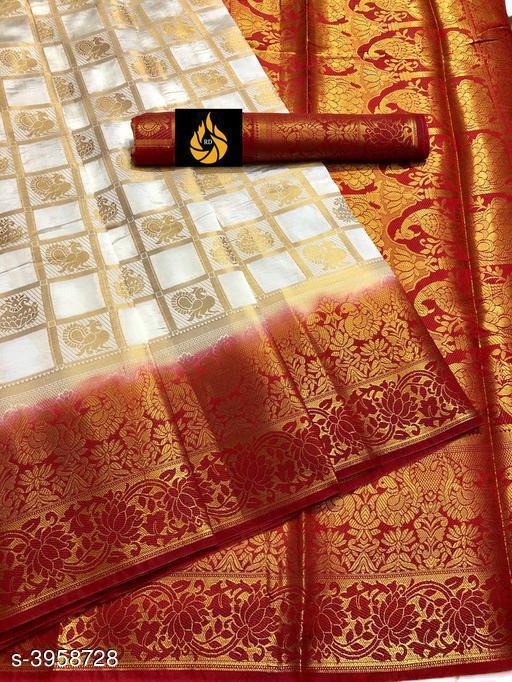 Stylish Nylon Silk Women's Saree