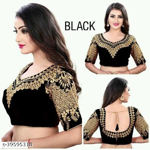HEAVY EMBRODERY DESIGNED BLOUSE BY  R VARIETY