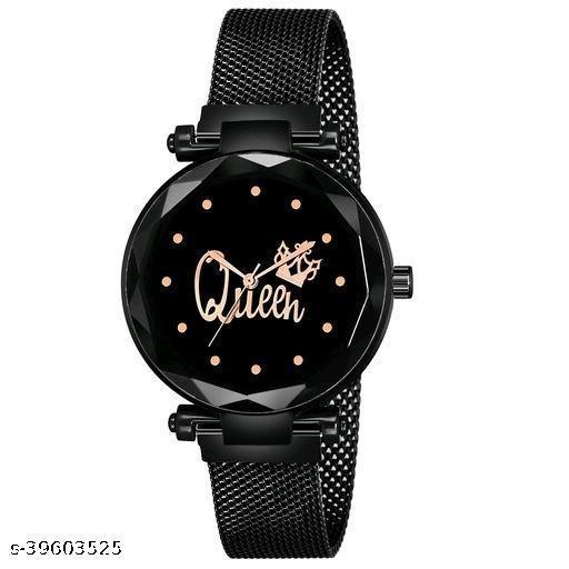 Ladies stylish Magnet belt Watch