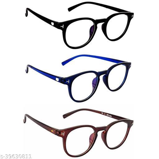 Pc Star Trendy Round Sunglasses For Men's & Women's