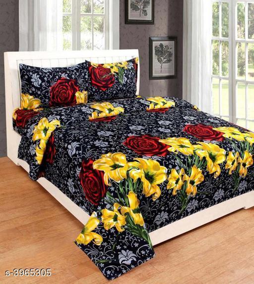 Stylish Polycotton Double Bedsheet