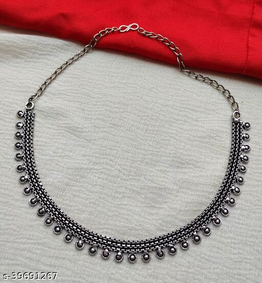 Krisha's Oxidized Necklace for Women