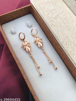 American Diamond Fancy Bali Earrings