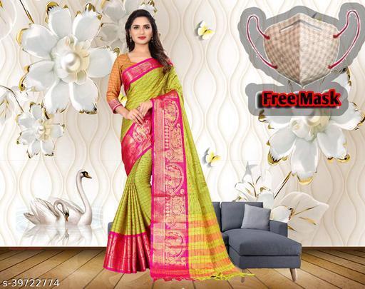 saree with mask free