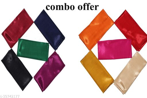 Combo offer Set ( in two set 10 pcs length is 80cm ) of blouse pieces