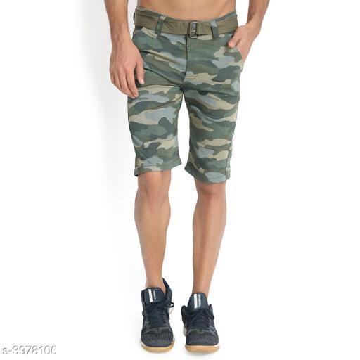Trendy Cotton Men's Shorts