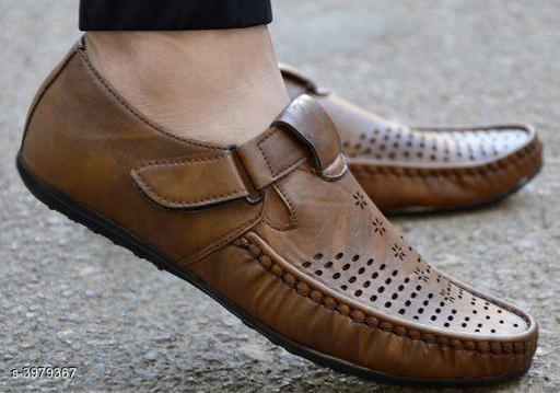 Stylish Synthetic Leather Men's Sandal