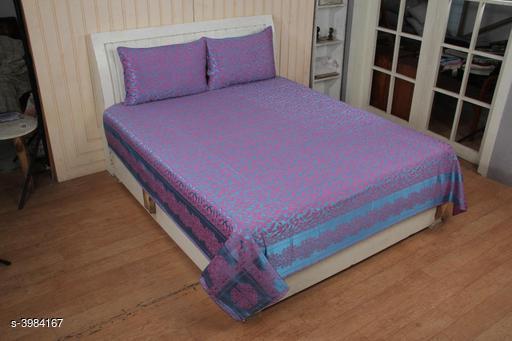 New Look Trendy Silk Double Bedsheets