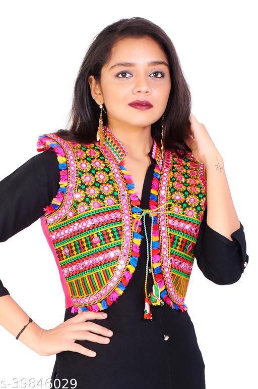 Aagyeyi Petite Women Ethnic Jackets