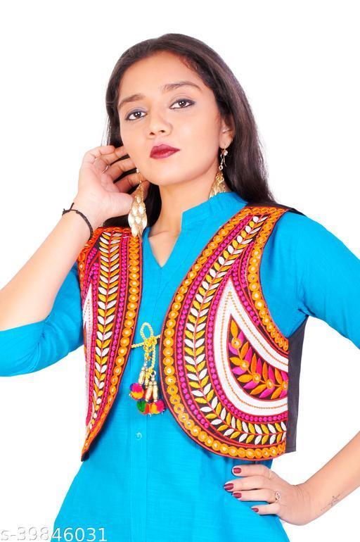 Aagyeyi Voguish Women Ethnic Jackets