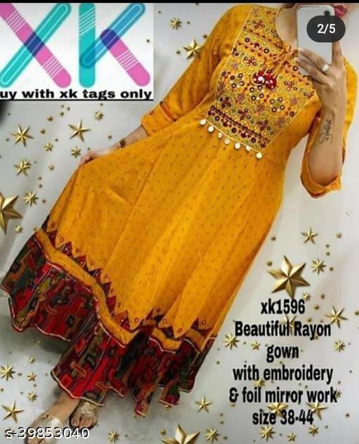 fabulous kurtis - gown