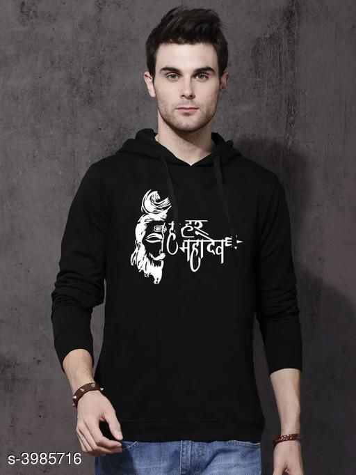 Stylish Cotton Men's Sweatshirts