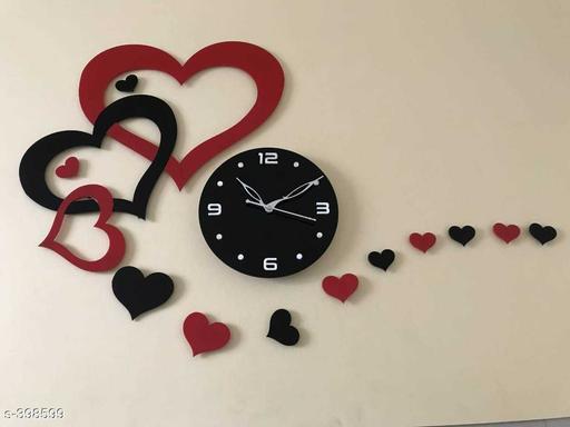 Amazing Love Life Acrylic Wall Clock