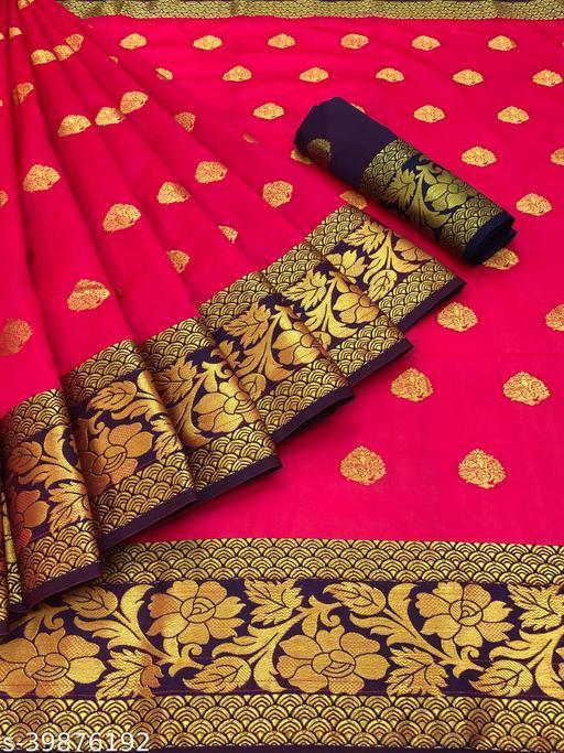 new fancy design silk saree for women