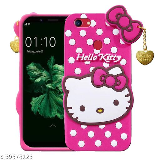 Q_B_S Hello Kitty-Back cover for-OPPO F5 (3D case, Pink)