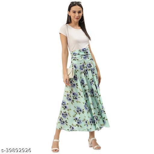 White Flower Skirts