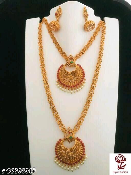 Shimmering chic jewellery set