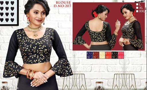 4 way strachable blouse,gold glitter,hosiery polyster,fancy ethic blouse,emdrodari work