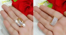 Amazing American Diamond  Women's Finger Rings