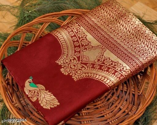 Beautiful Designer Kanjeevaram Silk Saree for Women