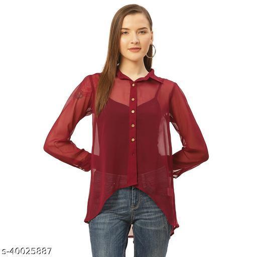 Wooden Button Shirt