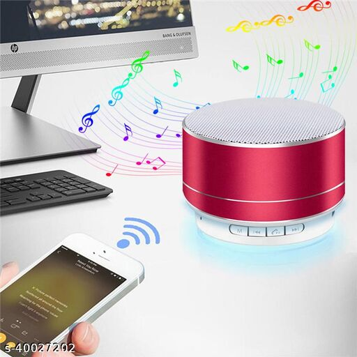 A10 Portable Bluetooth Speaker With USB/Memory Card Slot