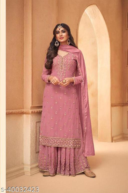 Shafnufab Designer Party Anarkali Salwar Suit